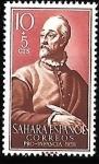 Stamps : Europe : Spain :  Sahara-cambio