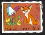 Stamps Hungary -  Vuk la Zorra Cub