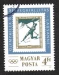 Stamps : Europe : Hungary :  Exposicion de sellos