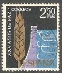 Sellos de Europa - España -  1585 - XXV años de paz
