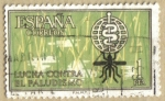 Stamps Spain -  Campaña Mundial Antimalaria