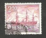 Sellos de Europa - España -   1608 - Fragata Numancia