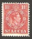 Sellos del Mundo : America : Santa_Lucia : 110 - George VI