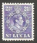 Sellos del Mundo : America : Santa_Lucia : 112 - George VI