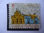 Sellos de America - Venezuela -  Navidad 67 (Sociedad Antituberculosis)- Iglesia Candelaria- Caracas Venezuela.