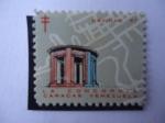 Stamps Venezuela -  Navidad 67 (Sociedad Antituberculosis)- La Concordia - Caracas Venezuela.