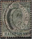 Stamps Gibraltar -  Edward VII