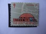 Stamps Venezuela -  Navidad 67 (Sociedad Antituberculosis)- Planetario Humboldt - Caracas Venezuela.