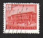 Stamps Hungary -  Edificios de la Quinquenal -Plan en Budapest