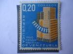 Stamps Venezuela -  Censo Nacional 1960.