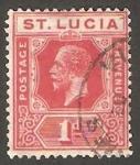 Sellos del Mundo : America : Santa_Lucia : 62 - George V