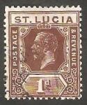 Sellos del Mundo : America : Santa_Lucia : 77 - George V