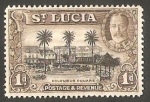 Sellos del Mundo : America : Santa_Lucia : 94 - Puerto Castries