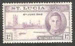 Sellos del Mundo : America : Santa_Lucia : 122 - Anivº de la Victoria