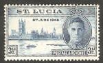 Sellos del Mundo : America : Santa_Lucia : 123 - Anivº de la Victoria