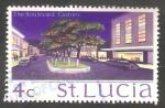 Sellos del Mundo : America : Santa_Lucia : 261 - Paseo de Castries