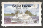 Sellos del Mundo : America : Santa_Lucia : 965  Crucero