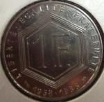 monedas de Europa - Francia -  1988 (Reverso)