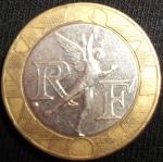 monedas de Europa - Francia -  1989 (Anverso)