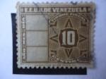 Sellos de America - Venezuela -  E.E.U.U. de Venbezuela - Tímbre Fiscal.