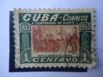 Stamps Cuba -  Centenario de Marti 1853-1953 - Ante el Concejo de Guerra