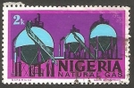 Stamps : Africa : Nigeria :  282 - Gas natural