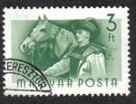 Stamps Hungary -  Trabajadores Húngaros