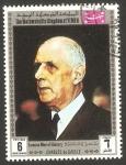 Sellos de Asia - Yemen -  Charles de Gaulle