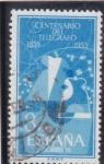 Sellos de Europa - España -  centenario del telégrafo (21)