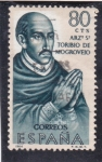 Stamps Spain -  arz. Sº Toribio de Mogroviejo (21)
