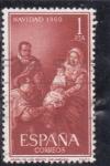 Stamps : Europe : Spain :  Navidad 1960 (21)