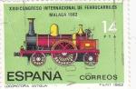 Sellos del Mundo : Europa : España : XXIII congreso internacional de ferrocarriles Malaga 1982 (21)