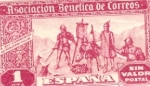 Stamps Spain -  MUT. POSTAL