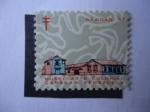 Stamps Venezuela -  Navidad 67 - Sociedad Antituberculosis - Museo Arte Colonial, Caracas venezuela.