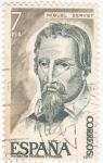 Stamps Spain -  Miguel Servet- teólogo (21)