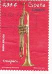 Sellos de Europa - España -  trompeta (21)