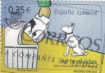 Sellos del Mundo : Europa : España : valores cívicos- NO TE OLVIDES (21)
