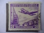 Stamps Chile -  Línea Aérea Nacional.