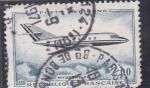 Sellos de Europa - Francia -  avión de pasajeros