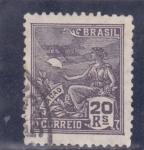 Sellos de America - Brasil -  aviaçao