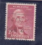 Sellos de Oceania - Australia -  Jhon Shortland
