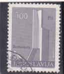 Stamps : Europe : Yugoslavia :  estructura