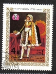 sello : Asia : Yemen : Napoleón como un adolescente