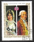 sello : Asia : Yemen : Napoleon and Josephine