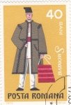 Sellos de Europa - Rumania -  traje típico de Suceava