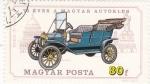 Sellos de Europa - Hungría -  coche de epoca- FORD