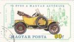 Sellos de Europa - Hungría -  coche de epoca- SWIFT