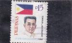 Stamps Philippines -  Emilio Aguinaldo- político