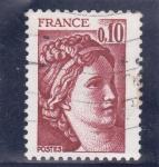 Sellos de Europa - Francia -  Sabin de Gandon