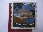 Stamps : Oceania : New_Zealand :  New Zealand - Picton Harbour.
